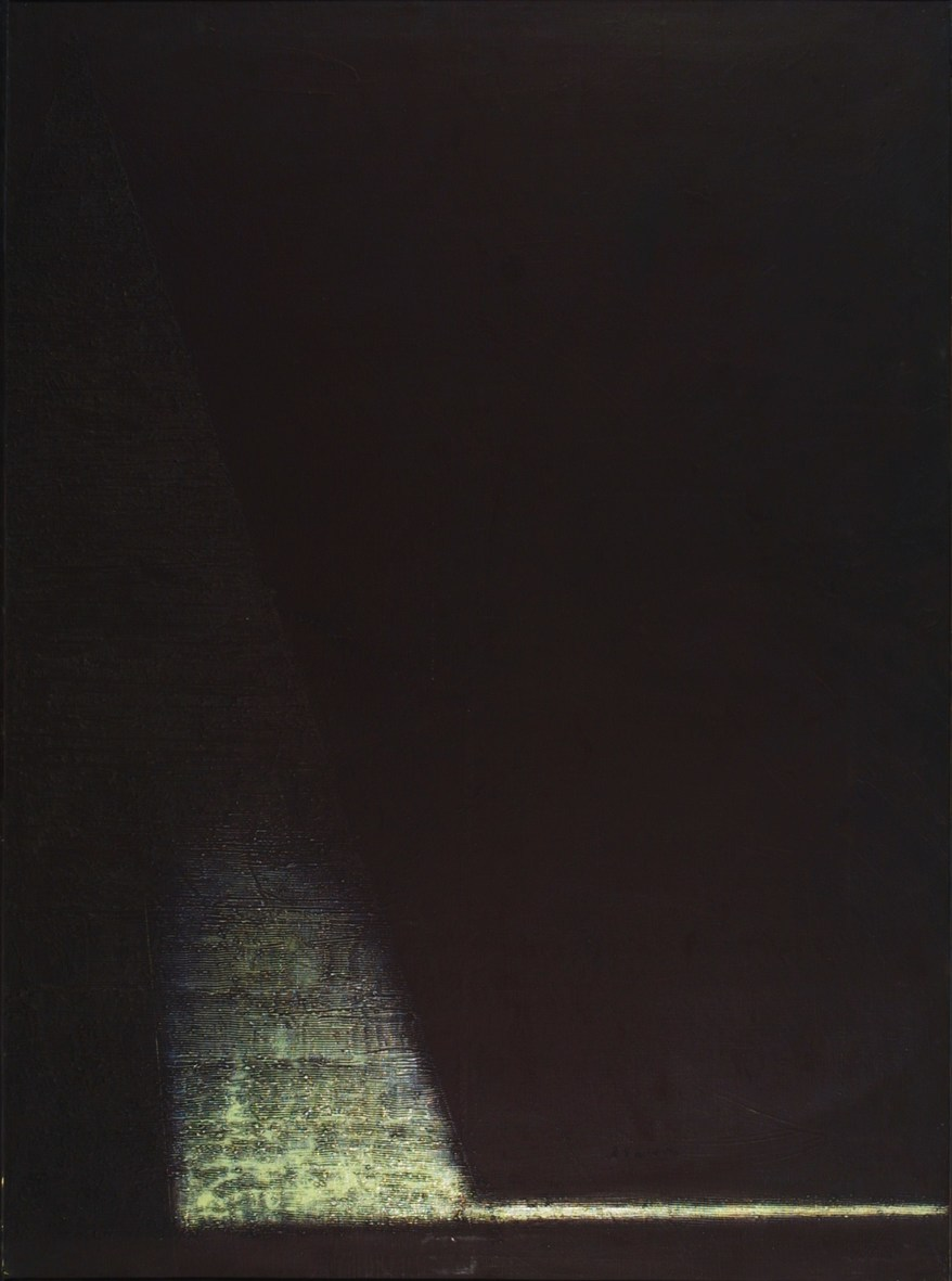 Birth of Form, 1995, oil, canvas, 150x110