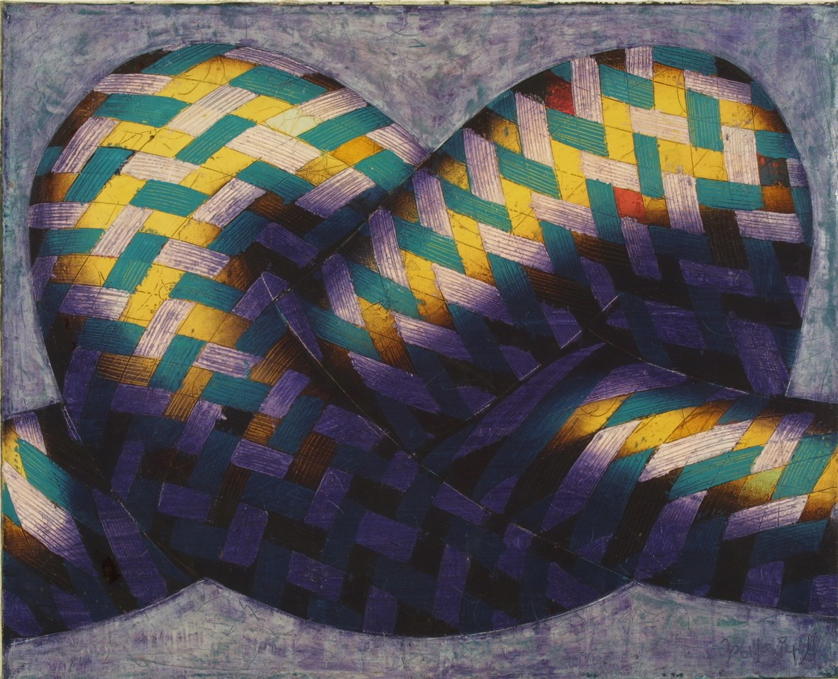 Knot 2000 oil canvas 81x100