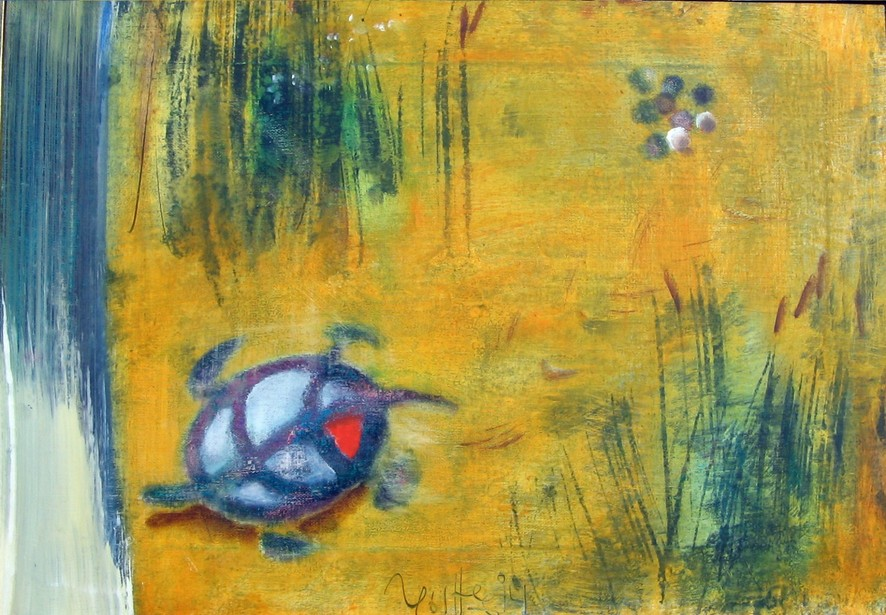 Way of turtle 2005 oil canvas 35x50