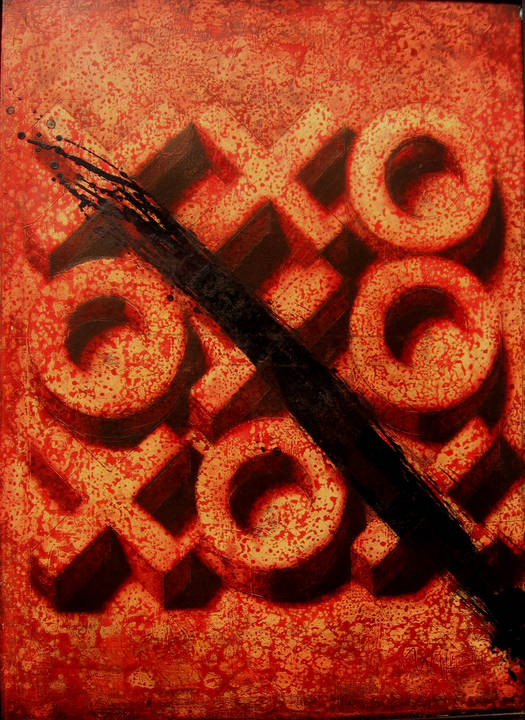 Victory 1999 oil canvas 100x73