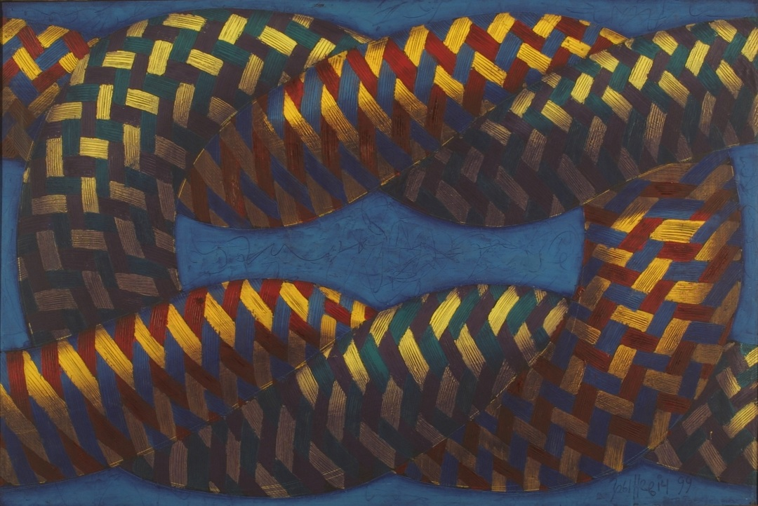 Knot 1, 1999, oil, canvas, 97x146